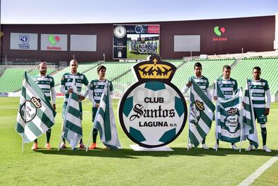 Ahora tienen la misión de defender los colores de Club Santos.