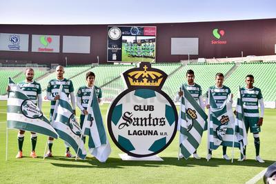 Santos Laguna presentó a sus nuevos refuerzos para el presente Torneo Apertura 2018 de la Liga MX.