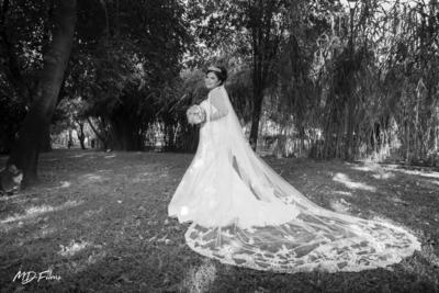 29072018 Fabiola Montañez luciendo un hermoso ajuar de David´s Bridal. - Md films. -