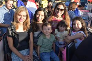 30072018 Montserrat, América, Tatiana, Lucas, Aitana y Luciana.