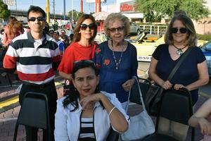 30072018 Javier, Malena, Rosa, Magda y Gina.