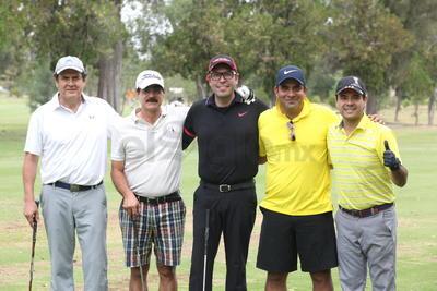 Ramón Dávila, Arturo Gaucín, Carlos Gutiérrez, Miguel Castro Mayagoitia y Arturo Ordaz.