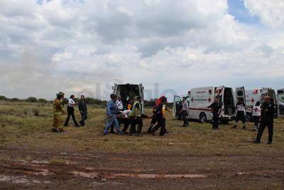Se desploma vuelo comercial en aeropuerto de Durango