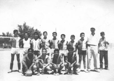 """05082018 """"Tres cruces"""" famoso equipo de futbol, dirigidos y patrocinados por el Sr. Jesús Carrillo en 1958."""