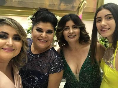 09082018 Yesy Colchado, Yecinia García, Rosy Colchado y Alexandra Serrano.