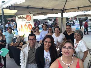 01082018 Margarita Chimal, Annaid Hernández, Alejandra Barajas, Rosario Olloqui, Carolina Castelán, Margarita Ávila, Lili Santamarina, Pineda Damián, Sugey Alvarado y Cintya Rodríguez.