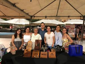 01082018 Margarita Chimal, Annaid Hernández, Edwin Quintero, Carolina Castelán, Alejandra Barajas y Rosario Olloqui.