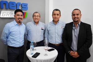 01082018 Eduardo, Daniel, Luis Enrique y Alejandro.