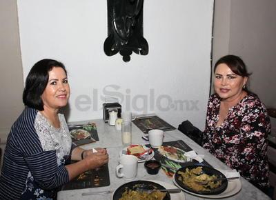 Blanca y Silvia.