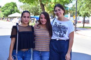 03082018 Valeria, Andrea e Itzel.