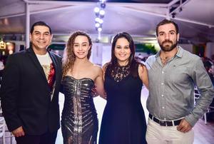 03082018 Javo, Paloma, Marcela y Jesús.
