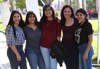 Karina, Alondra Edith, Vanessa y Michelle.
