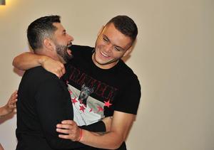 Alejandro y Jonathan Rodriguez
