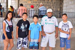 07082018 Estefany, Ramón, Edson, Arturo y Juan.