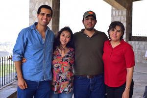 07082018 Elías, Caro, Eliud y Lizbeth.
