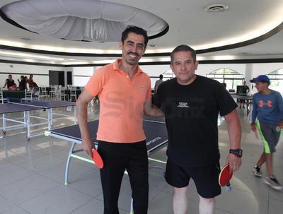 David Santander y Enrique Rojas.