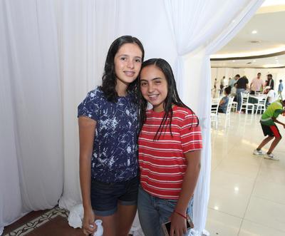 Sofía Vazquez y Daniela Neyra.