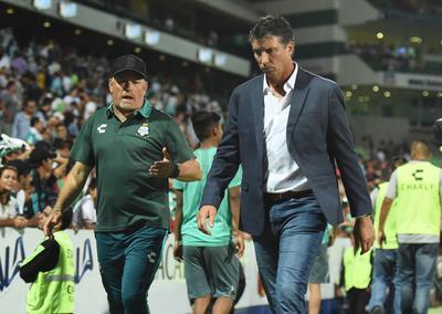 El director técnico de los Guerreros, Dante Siboldi, tras el empate en Copa MX.