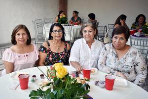 08082018 Leticia, Lucina, Elodia y Rosy.