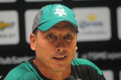 El charrúa llegó en el Apertura 2017 como técnico interino tras el cese de José Manuel de la Torre.