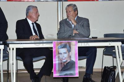 estuvo el alcalde Jorge Zermeño y el secretario de Gobierno del Estado, José María Fraustro Siller.
