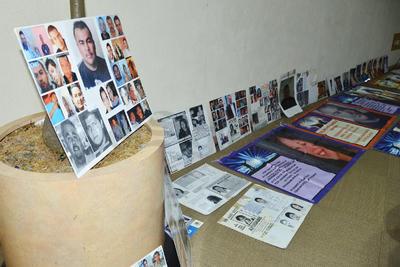 Familiares de personas desaparecidas participaron en el foro.