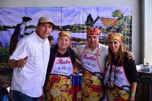 10082018 Irene Ramos, Armando Alvarado, Alejandra Rosas y Rubén Treviño.