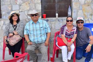 10082018 José, María José, María Julia y Julia.