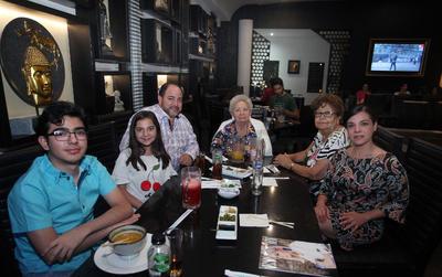 Familia Hernández del Campo.