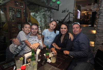 Familia Marín Ortiz.