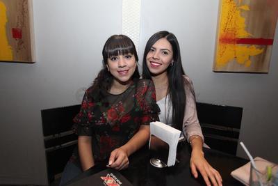Diana Carrete y Ana Paula Herrera.