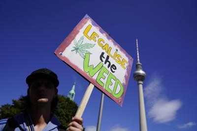 Se manifestaron por la legalización en Alemania.