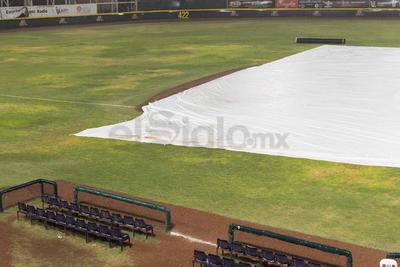 Lluvia recorta partido de Algodoneros ante Acereros
