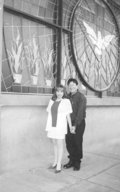 12082018 Sandra Lorena Arreola Franco y Raúl García Espinoza el 14 de agosto de 1999.