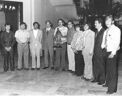 12082018 C.P. Roberto Pérez Escareño, Lic. Luis Echeverría Álvarez, entonces Presidente de México, Rubalcaba, Lic. Óscar Mejía Favila, Embajador de Cuba en México, Monarrez, cuando se fundó la Prefed, hace 40 años..