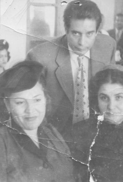 12082018 Dr. Francisco Gómez Palacio, María Gurrola Aldama y María Carmen Gurrola Aldama, en 1940.