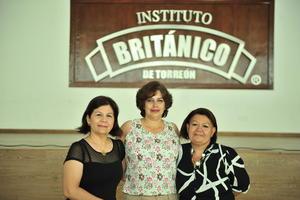 13082018 Gabriela Gómez, Rocío Torres y Gloria Arteaga.