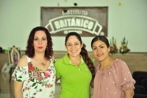 13082018 Rocío Saldaña, Ohiana Silva y Jessica Rangel.