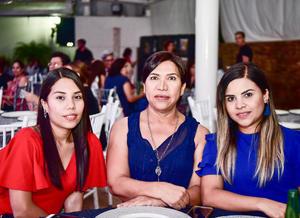 13082018 EN RECIENTE EVENTO.  Lucero, Marijose y Laura.