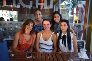 13082018 Alicia, Ana, Liliana, Begoña y Karla.