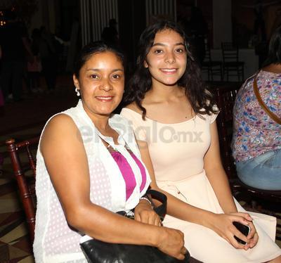 Isabel y Eugenia Galaviz.