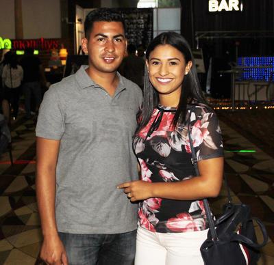 Karina y Julio.