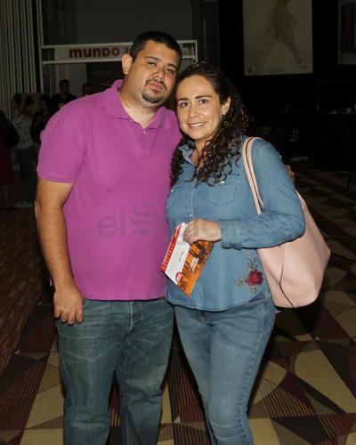 Sarahí y Jose Luis.