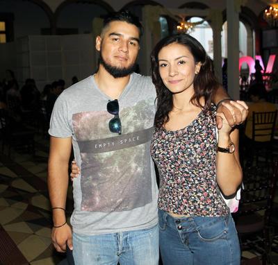 Sarahi Betancourt y Jorge Ledezma.