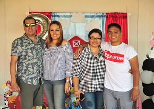 14082018 Erick, Gaby, Marlene y Franco.