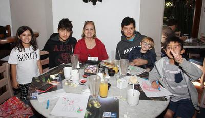 Familia Rangel y Familia García.
