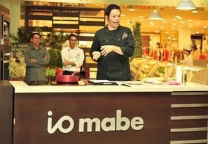 15082018 El reconocido chef compartió útiles consejos.