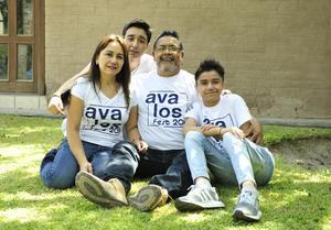 16082018 Cristina, Alfonso, Diego y Luis.