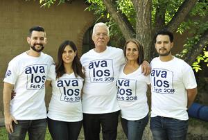 16082018 Arnoldo, Rosario, Arnoldo, Elisa y Alejandro.