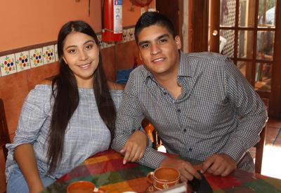Daniela y Gabriel.